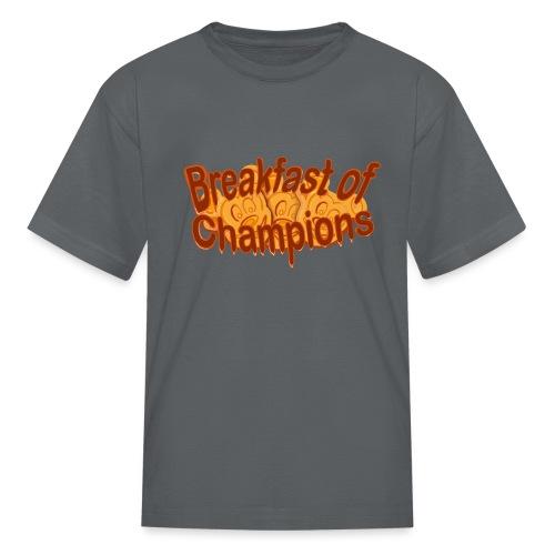 Breakfast of Champions - Kids' T-Shirt