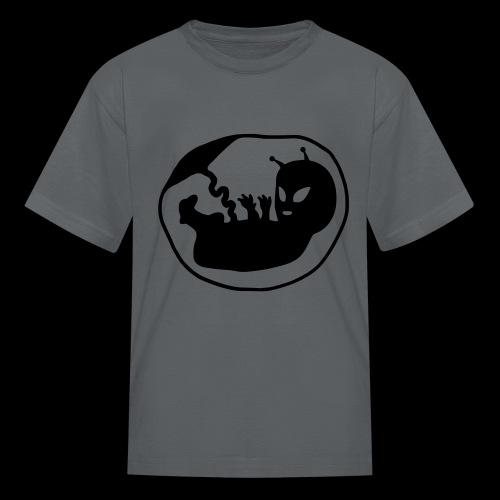 Alien Fetus by bmx3r - Kids' T-Shirt