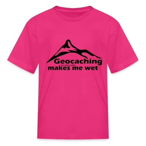 Wet Geocaching - Kids' T-Shirt