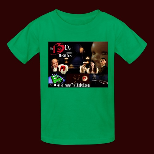 The 13th Doll Cast and Puzzles - Kids' T-Shirt