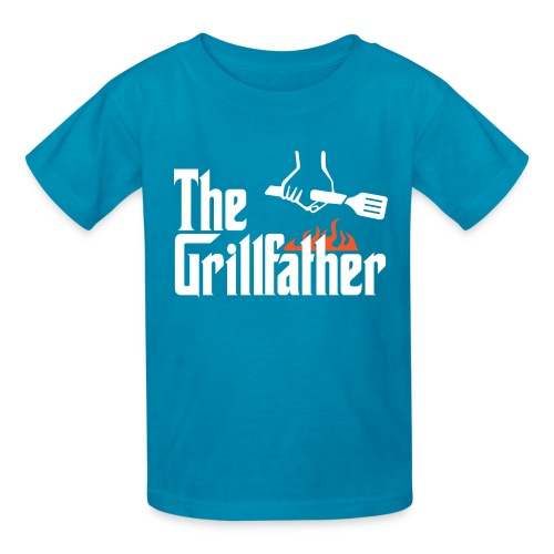 The Grillfather - Kids' T-Shirt