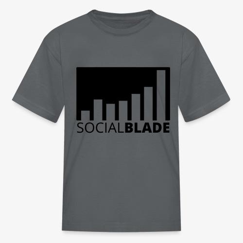 SB Blackout Logo - Kids' T-Shirt
