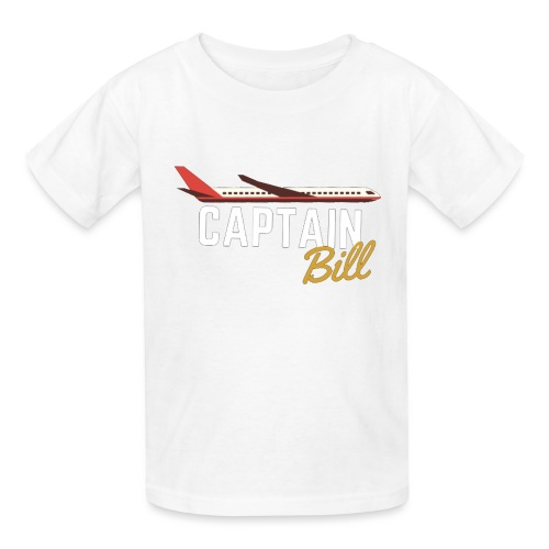 Captain Bill Avaition products - Kids' T-Shirt