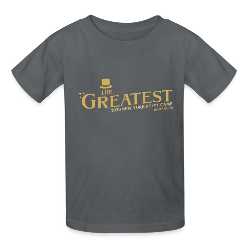 The Greatest NYCCOC PTYT CAMP 2020 - Kids' T-Shirt