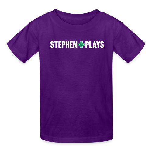 stephenplays_logo_shirt - Kids' T-Shirt