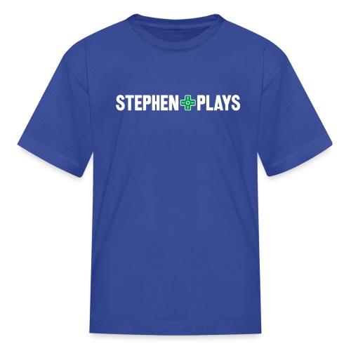 stephenplays_logo_shirt - Kids' T-Shirt