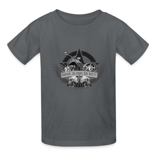 Hardcore. Old School. Deal With It. - Kids' T-Shirt