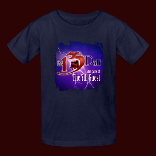 The 13th Doll Logo With Lightning - Kids' T-Shirt