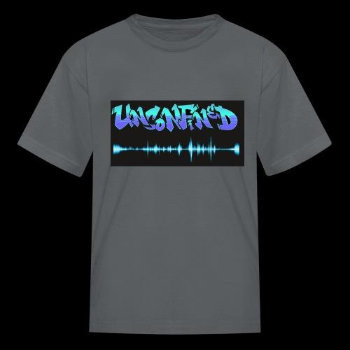 unconfined design1 - Kids' T-Shirt