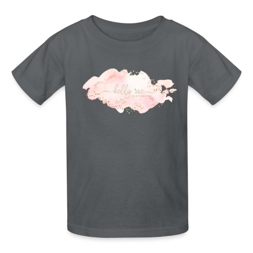 Pink Watercolor Splash - Kids' T-Shirt