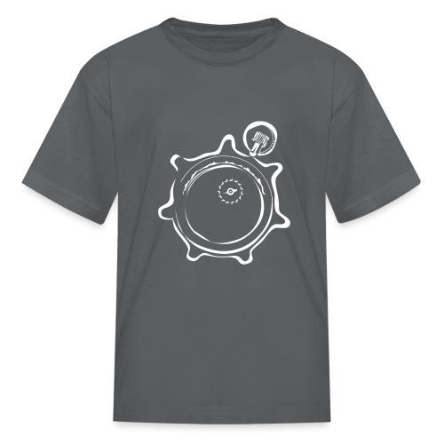 Athlete Engineers Stopwatch - White - Kids' T-Shirt