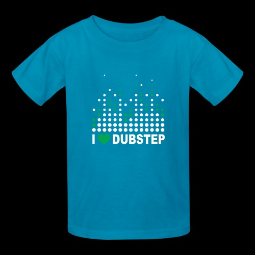 I heart dubstep - Kids' T-Shirt