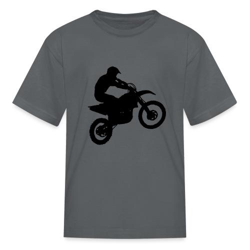 Motocross Dirt biker - Kids' T-Shirt
