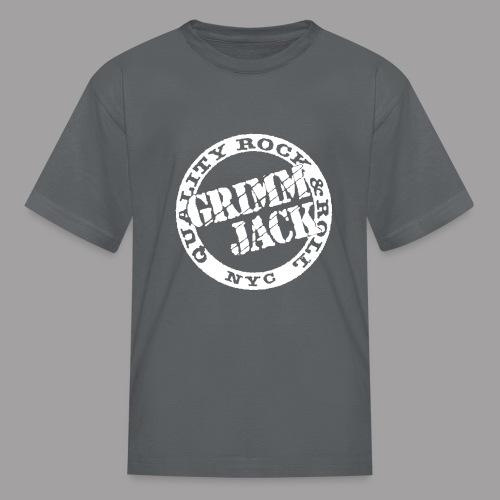 Grimm Jack white Quality RnR - Kids' T-Shirt