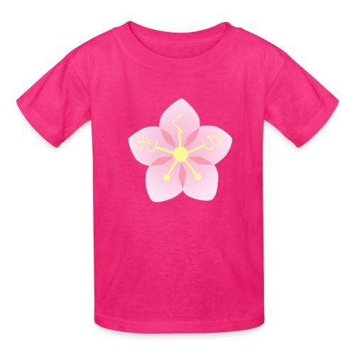 Sakura / Cherry Blossom Japanese Writing Hiragana - Kids' T-Shirt