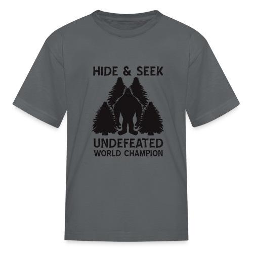 Hide and Seek Champ! - Kids' T-Shirt
