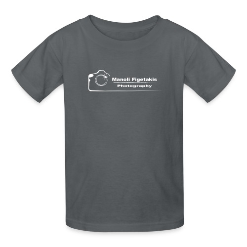 Manoli Figetakis Photography Logo - Kids' T-Shirt