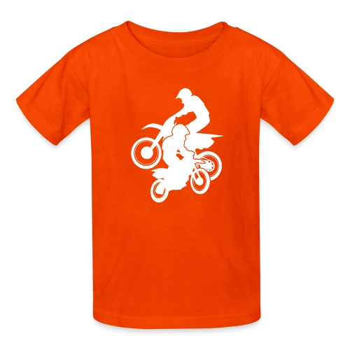 Motocross Dirt Bikes Off-road Motorcycle Racing - Kids' T-Shirt