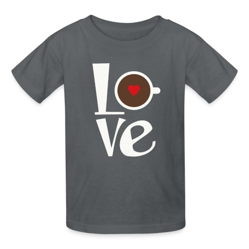 Love Coffee - Kids' T-Shirt
