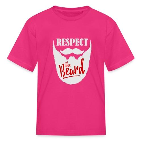 Respect the beard 10 - Kids' T-Shirt