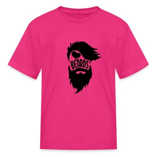 I Love Beards - Kids' T-Shirt