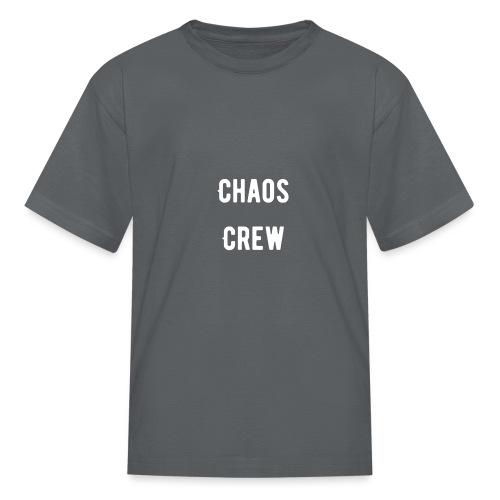 Chaos Crew White - Kids' T-Shirt