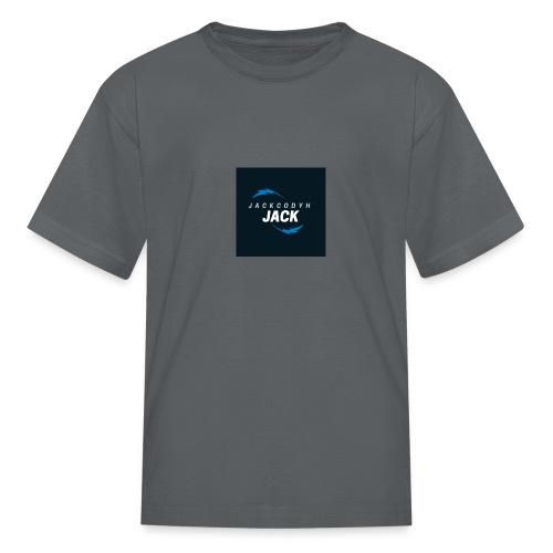 JackCodyH blue lightning bolt - Kids' T-Shirt