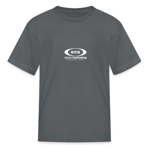 SMS White Logo - Kids' T-Shirt