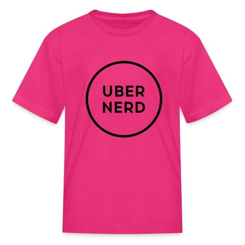 uber nerd logo - Kids' T-Shirt