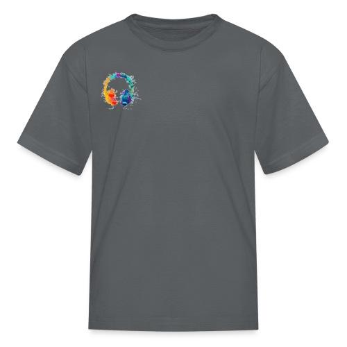 Colourful headset - Kids' T-Shirt