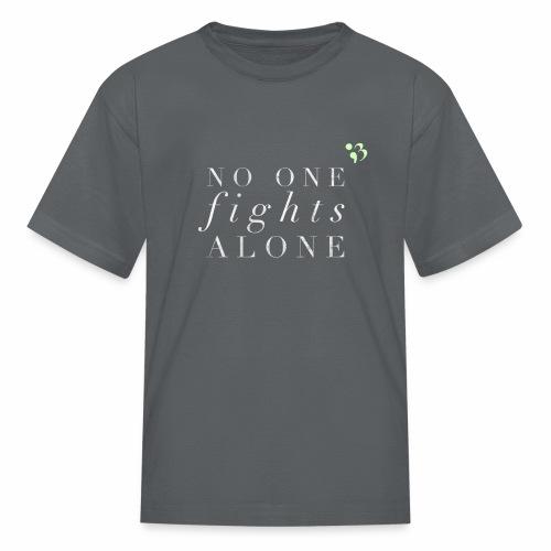 No one fights alone - Kids' T-Shirt