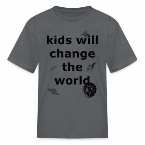 Change the World - Kids' T-Shirt