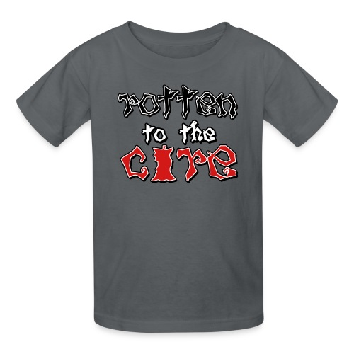 Rotten To The Core - Kids' T-Shirt