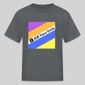 JGR Fans Unite Retro Logo - Kids' T-Shirt
