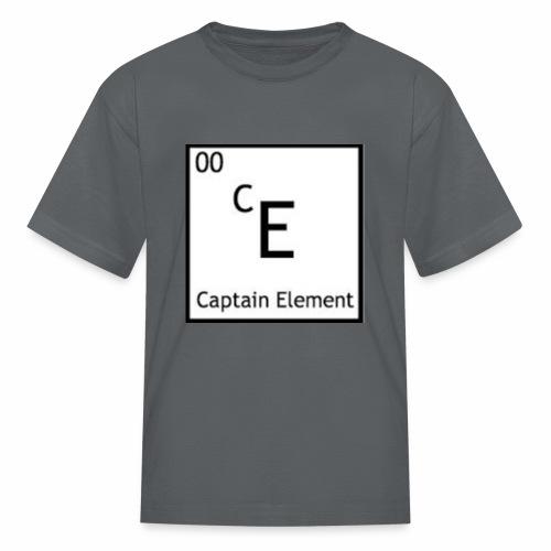 Captain Element Logo - Kids' T-Shirt