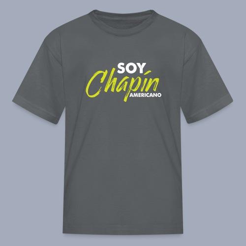 Soy Chapín Americano - green - Kids' T-Shirt