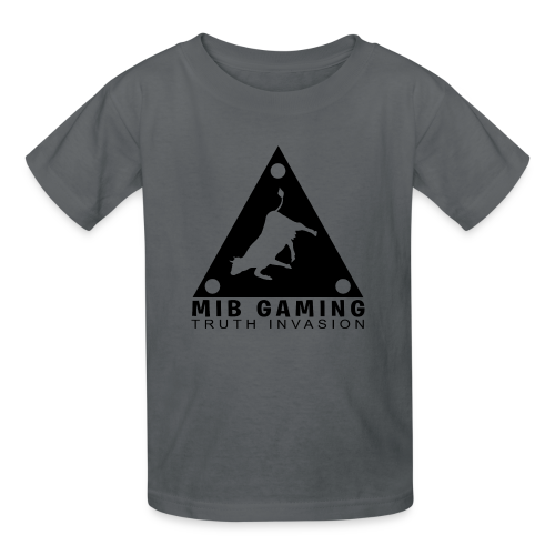 MIB LOGO: TRUTH INVASION TRIANGLE UFO - Kids' T-Shirt