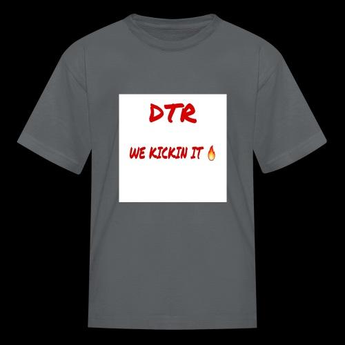 DTR KICKIN IT SHIRT 🔥 - Kids' T-Shirt