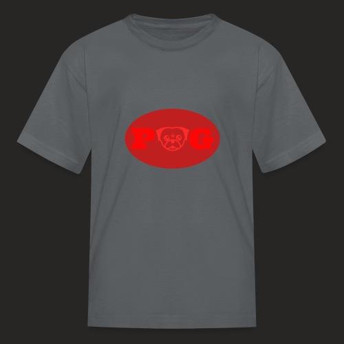 Pugg Clothing Logo Red - Kids' T-Shirt