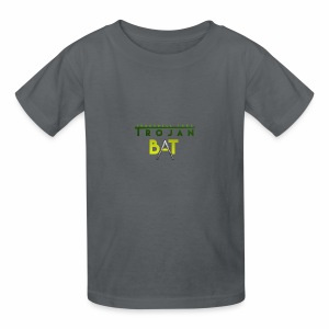 New Trojan Bat Logo - Kids' T-Shirt