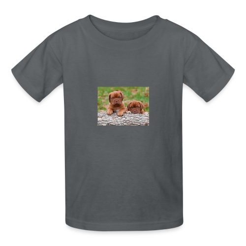 French Mastiff Puppies - Kids' T-Shirt
