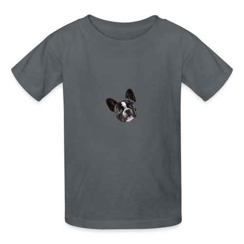 French Bulldog Puppy Face - Kids' T-Shirt