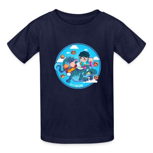 Awesome dude - Kids' T-Shirt