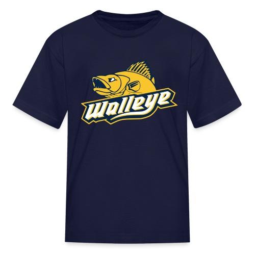Walleye HC LOGO - Kids' T-Shirt