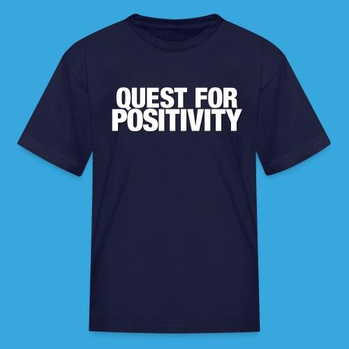 Quest for Positivity Q4P - Kids' T-Shirt