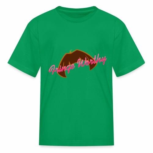 Fringe Worthy - Kids' T-Shirt