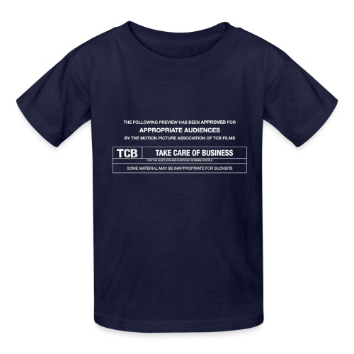 TCB Films Disclamer - Kids' T-Shirt