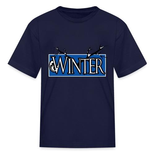 PD 4Seasons WinterGIF - Kids' T-Shirt