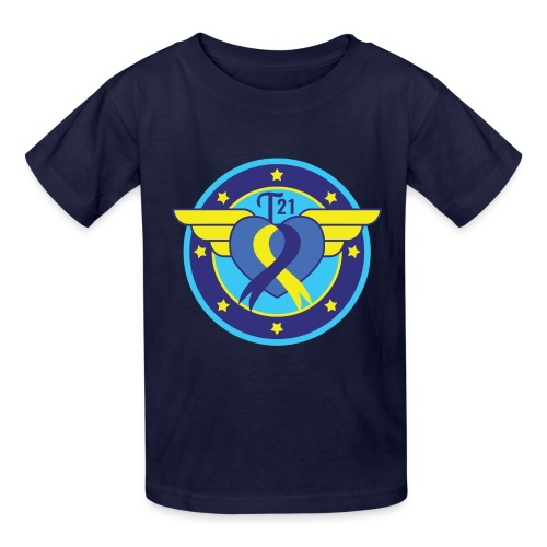 Down syndrome Hero - Kids' T-Shirt