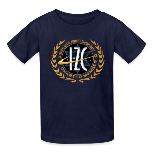 Intergalactic Zionist Conspiracy Charter Member - Kids' T-Shirt